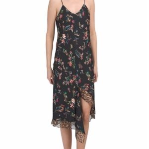 🆕 SAM EDELMAN FLORAL SPAGHETTI STRAP DRESS